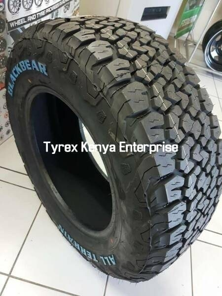 BLACK BEAR ALL TERRAIN 265/75/R16