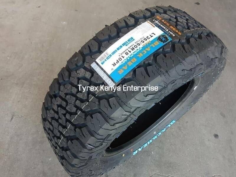 BLACK BEAR ALL TERRAIN 265/60/R18
